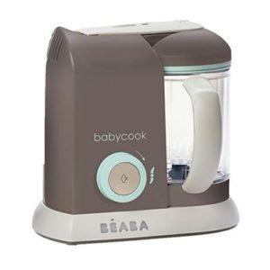 beaba babycook pro 4-in-1 baby food maker steamer cooker and blender