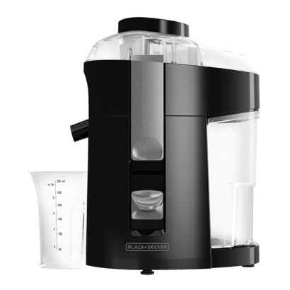 black+decker 400w fruit and vegetable juicer extractor je2200b