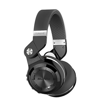bluedio t2s (turbine 2 shooting brake) bluetooth stereo headphones wireless headphones with microphone, 57mm drivers/rotary folding