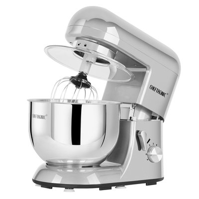 cheftronic stand mixer sm-986 120v/650w 5.5qt bowl 6 speed kitchen electric mixer machine