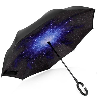 rainlax inverted double layer windproof uv protection reverse folding umbrella