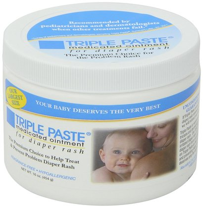 triple paste medicated ointment for diaper rash 16-ounce