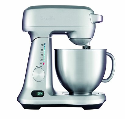 breville bem800xl scraper mixer pro 5-quart mixing bowl stand mixer stainless steel 550 watts