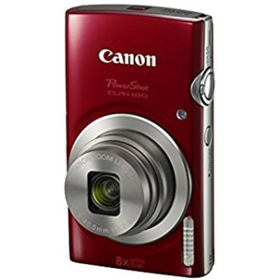 canon powershot elph 180 digital camera 8x optical zoom with image stabilization and smart auto mode