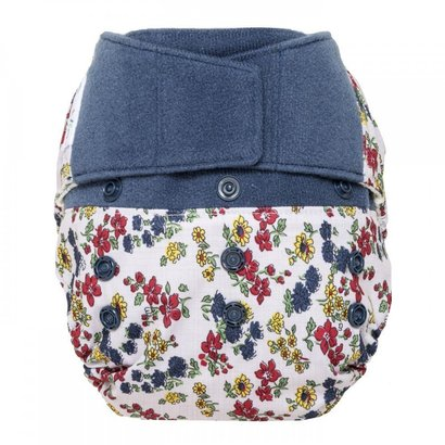 grovia hybrid hook / loop shell cloth diaper 100% water resistant polyester tpu