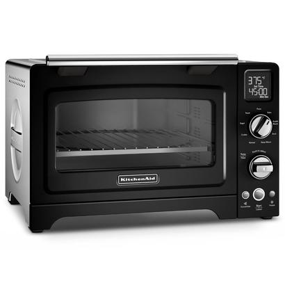 kitchenaid kco275ob 12-inch convection 1800-watt digital countertop oven with ceramashield coating