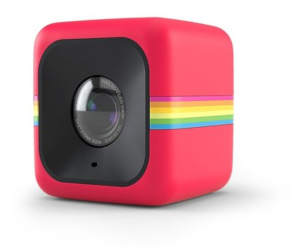 polaroid cube+ 1440p mini lifestyle action camera with wifi and image stabilization