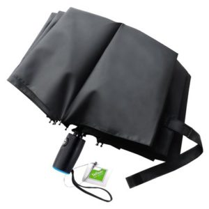 tadge goods windproof travel umbrella with automatic open-close teflon coating includes carry bag