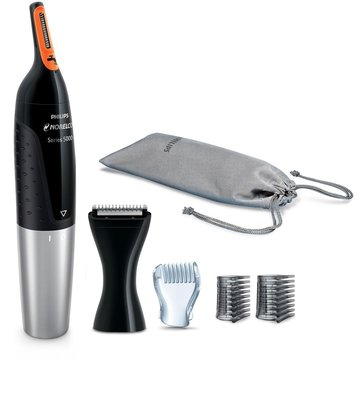 philips nt5175/49 norelco nose trimmer 5100 waterproof trimmer for men's facial hair