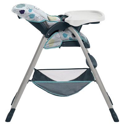 Graco Slim Snacker High Chair with 3 Position Reclining Seat