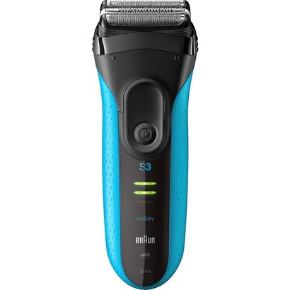 braun series 3 proskin 3040s electric razor for wet or dry shave with powerful nimh battery for men