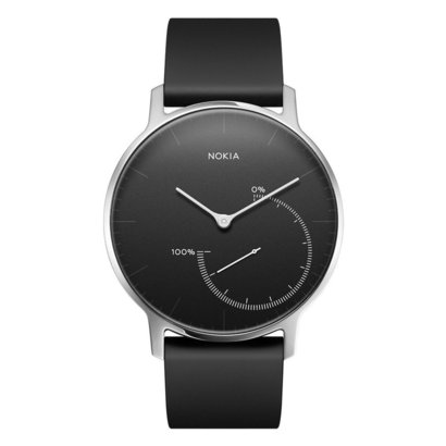 nokia steel activity & sleep watch with automatic run, walk and sleep mode