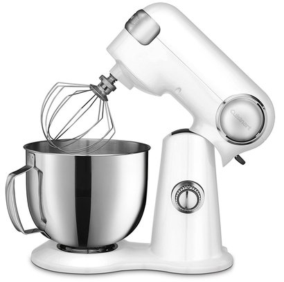 cuisinart sm-50 precision master 500 watt stand mixer with 12 speeds and large 5.5-quart stainless steel bowl