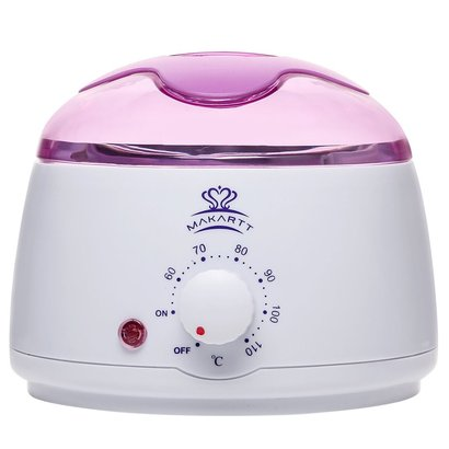 makartt ms-901 professional hair removal wax warmer includes 14 oz melting pot with adjustable temperature control, led indicator light and auto shut-off function