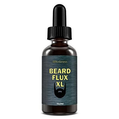 delta genesis beard flux xl premium beard oil for natural and healthy beard growth 1 fl.oz