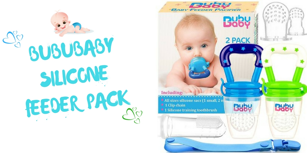 BubuBaby Silicone Feeder Pack
