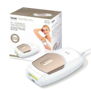 beurer ipl7500 permanent hair removal with 150,000 light pulses and 3 energy levels, all-body hair reduction for men and women