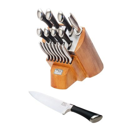 chicago cutlery fusion 18-piece knife set