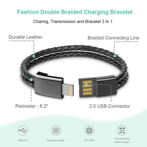 Charging, Transmission and Bracelet 3-in-1 from Aqonsie