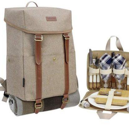 California Picnic Insulated Picnic Backpack for Two