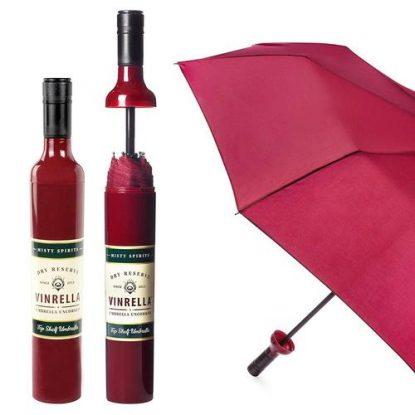 Wine Bottle Umbrella from VINRELLA