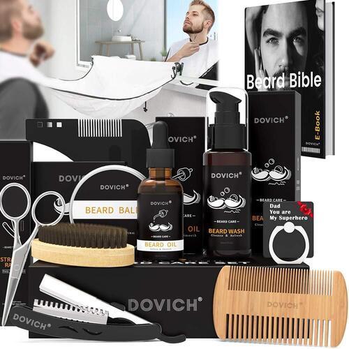 DOVICH 12 in 1 Beard Grooming Kit