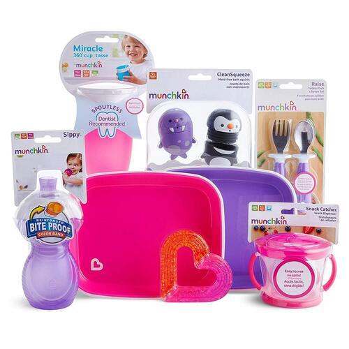 Munchkin 1st Baby Birthday Gift Basket