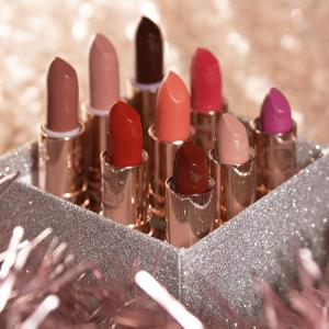 Pretty Vulgar 8 vibrant and bold shades matte lipstick