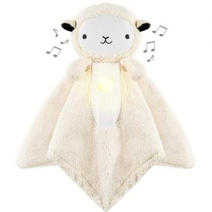 WavHello LoveBub Baby Security Blanket with Night Lights, Lullabies and White Noise