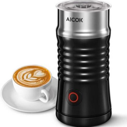 AICOK MMF- 808 Automatic Stainless Steel Milk Frother with Three Function