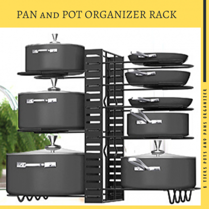 pan and pot organizer rack by G-TING