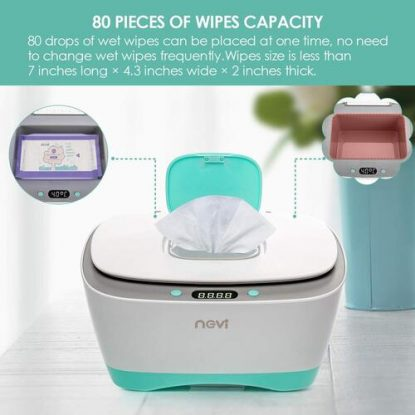 NCVI Large Capacity Wipe Warmer with Three-speed temperature adjustment and LED digital display