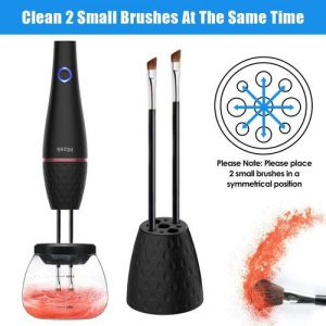 Professional USB Rechargeable Electric Makeup Brush Cleaner and Dryer by Hizek