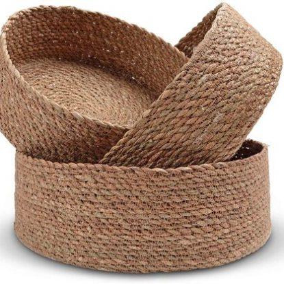Birch + Ash Woven Storage Basket Set