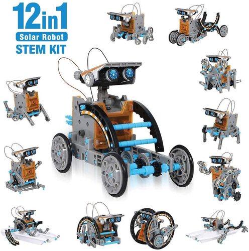 ciro 12 in 1 solar robot stem kit educational toy for kids
