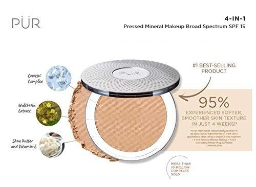 4-in-1 Pressed Mineral Powder Foundation by PÜR The Complexion Authority