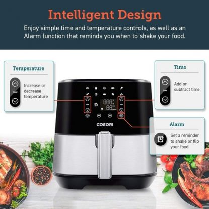 COSORI Stainless Steel 3.7 Quart Air Fryer
