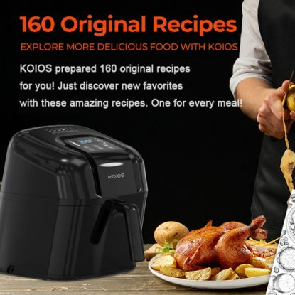 KOIOS 7.8QT 1800 watt Air Fryer