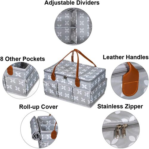 Moteph XL Spacious baby diapers organizing caddy