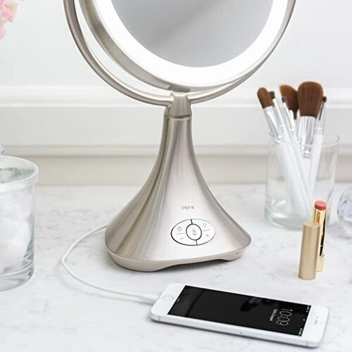 iHome LED Makeup Vanity Mirror