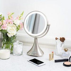 iHome iCVBT8 LUX ll Vanity Mirror