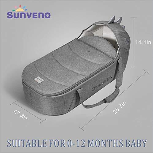 SUNVENO Multifunctional Baby Travel Bassinet