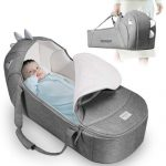 SUNVENO Portable and Foldable Baby Lounger
