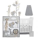 Lambs & Ivy six-piece baby crib bedding set