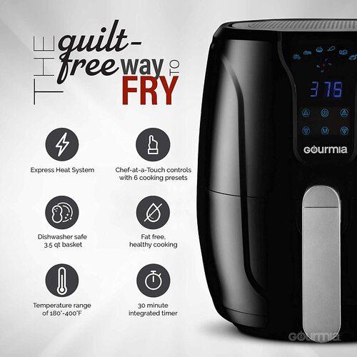 Digital Air Fryer from Gourmia