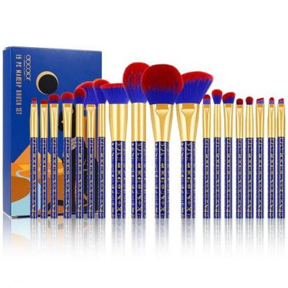 Docolor Ancient Egyptian 19 piece Unique Makeup Brush Set