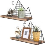 Homode 2 Piece Wall Shelf Set