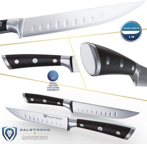 Gladiator Series Straight-Edged Steak Knives