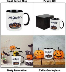 WHATCHA Ceramic Halloween Mug