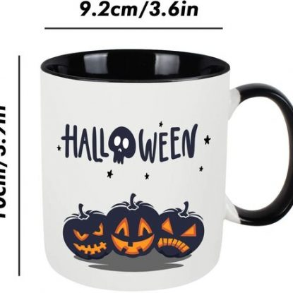 WHATCHA High Quality Ceramic Halloween Mug